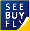 SEE BUY FLY LOGO 100